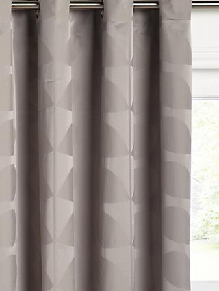 Orla Kiely Jacquard Stem Pair Lined Eyelet Curtains