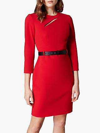 Karen Millen Mini Fever Dress, Red