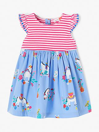96b9aca8c John Lewis & Partners Baby Donkey Stripe Dress, Multi