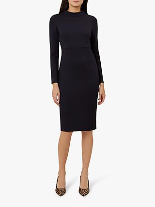 Hobbs Talia Dress, Navy