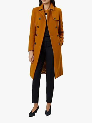 Hobbs Eleanora Trench Coat, Ochre