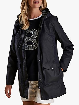 Barbour Seahouse Hooded Waxed Jacket