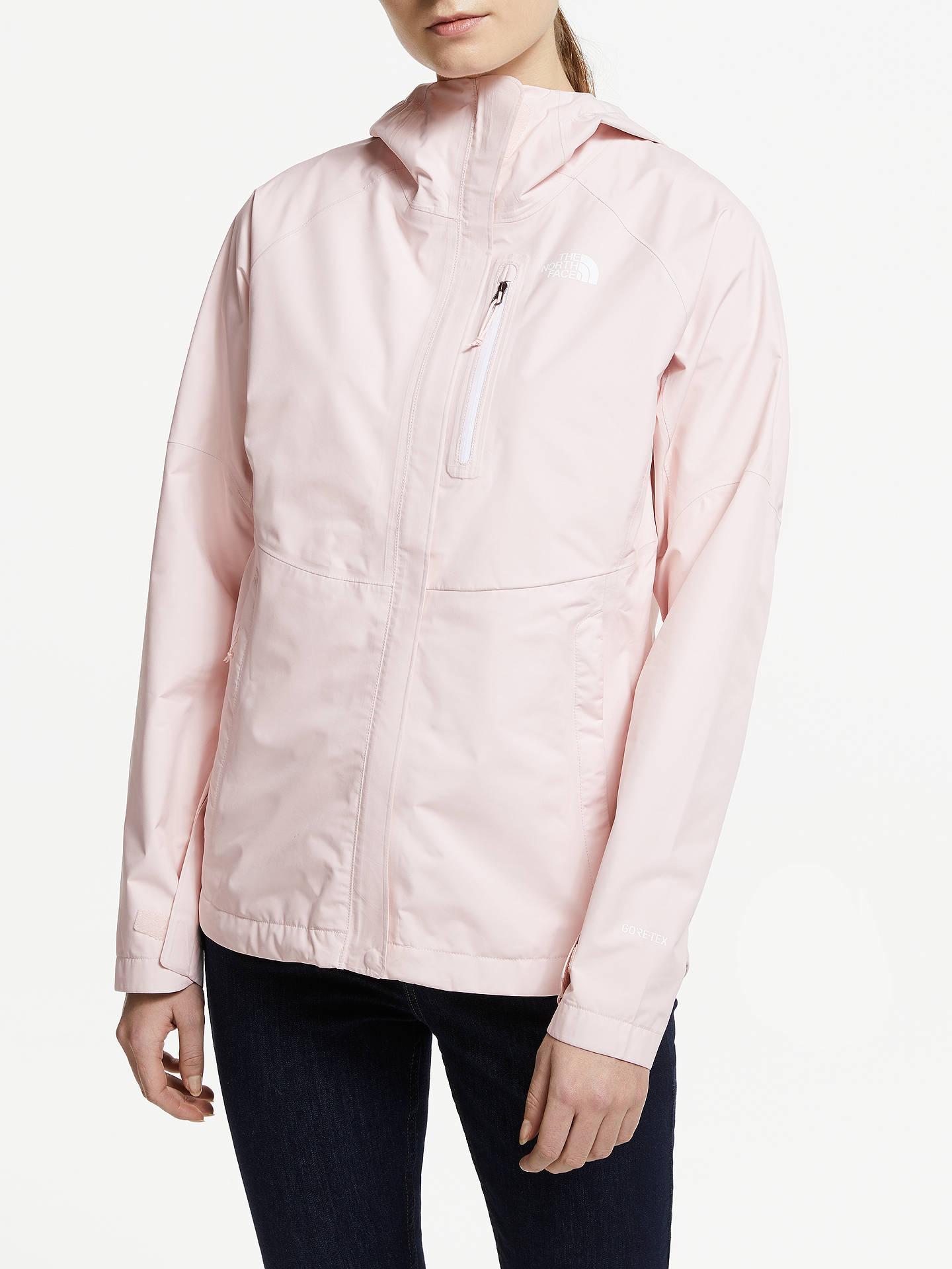 schöne Schuhe schön und charmant billigsten Verkauf The North Face Dryzzle Jacket, Pink Salt at John Lewis ...