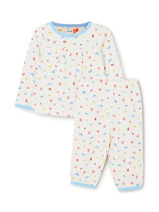 8c4f6163f John Lewis & Partners Baby GOTS Organic Cotton Butterfly Pyjamas, Multi