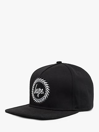 Hype Children's Snapback Hat, Black