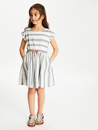 fefba750f8 John Lewis   Partners Girls  Woven Stripe Dress
