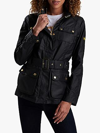 Barbour International Bearings Casual Jacket, Black