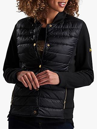 Barbour International Hurdel Quilted Jacket, Black