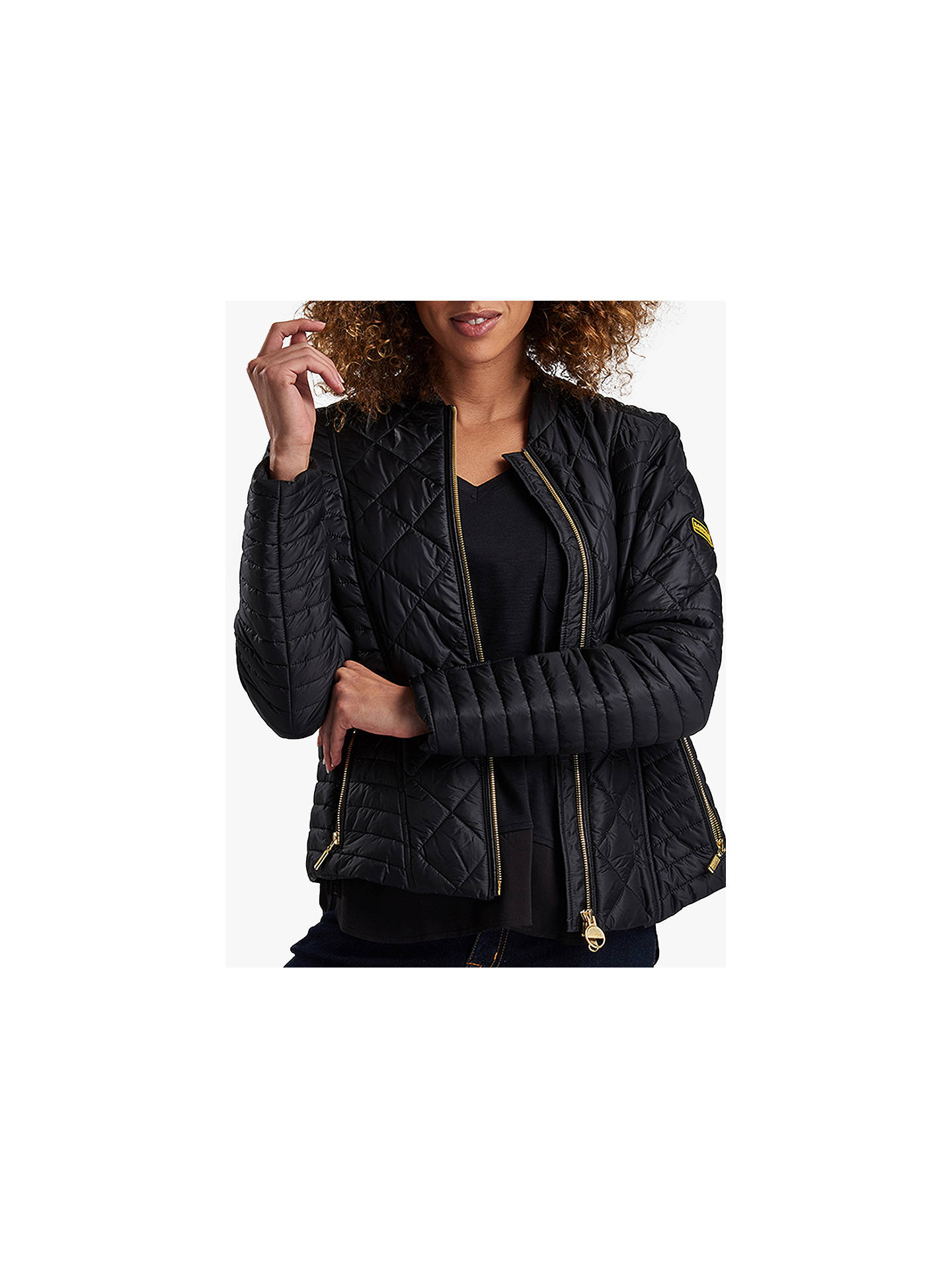 93ead7339ec4 Buy Barbour International Sprinter Quilted Jacket