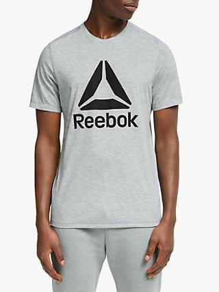 Reebok Workout Ready Supremium Training Top, Medium Grey Heather