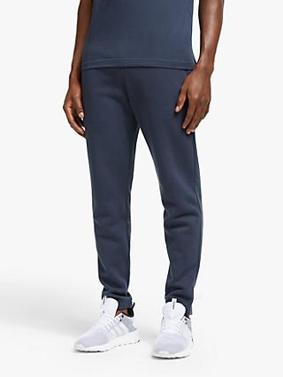 Reebok Training Essentials Closed Cuffed Tracksuit Bottoms, Heritage Navy