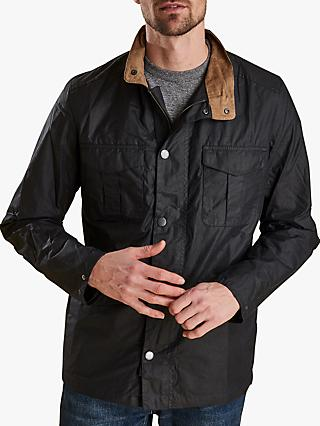 554dd742068 Barbour Land Rover Defender Waxed Jacket
