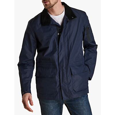 Barbour Land Rover Defender Waterproof Jacket, Admiralty Blue