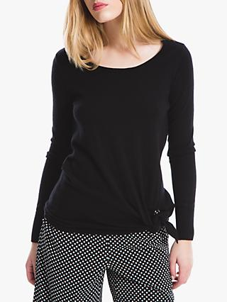 Max Studio Tie Side Jumper