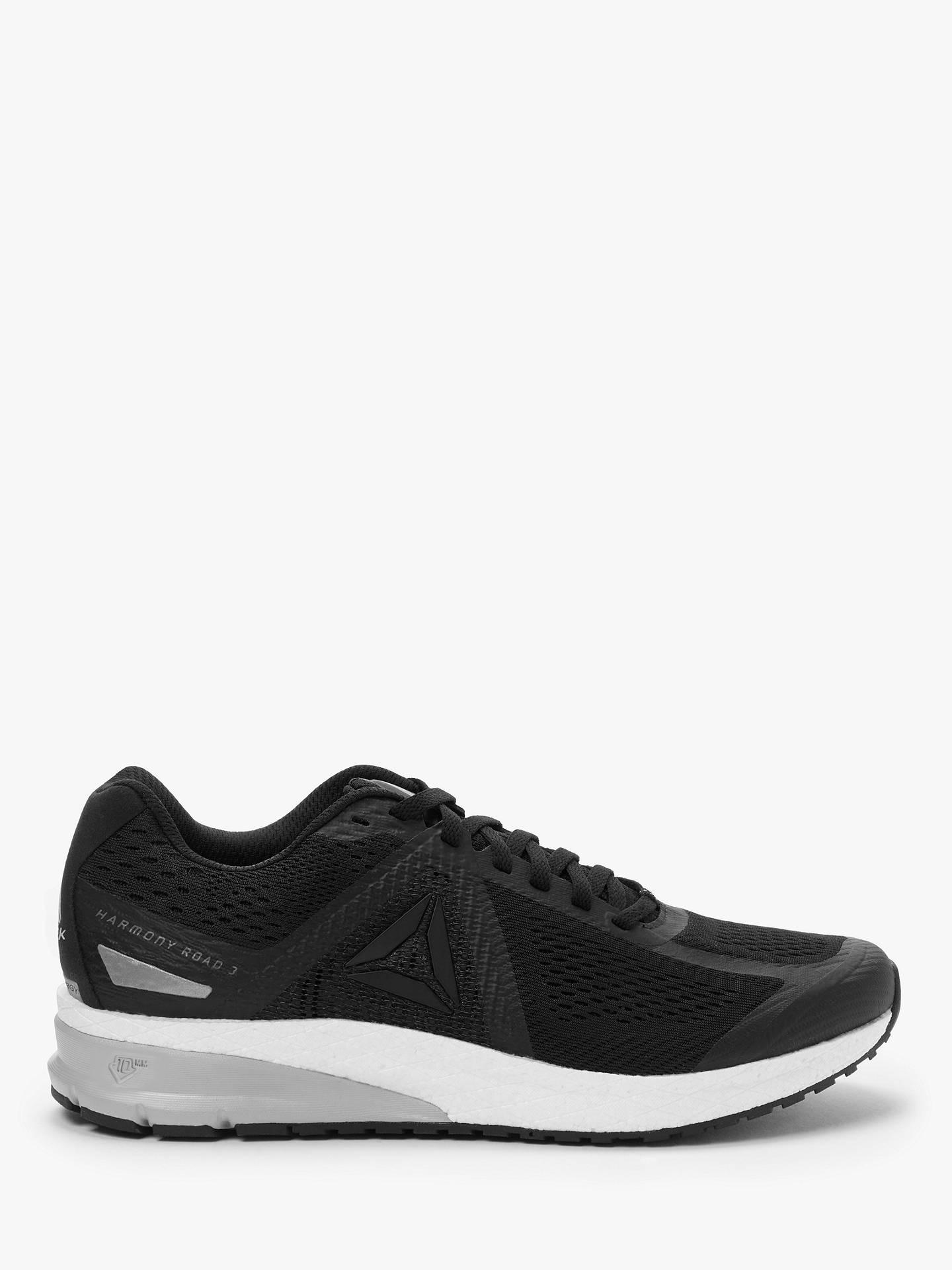 7b1e3d33 Reebok Harmony Road 3.0 Men's Running Shoes, Black/White/Cold Grey