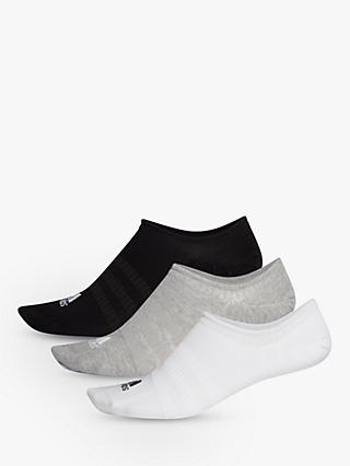 adidas No Show Training Socks, Pack of 3