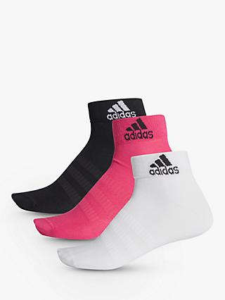 adidas Light Training Ankle Socks, Pack of 3