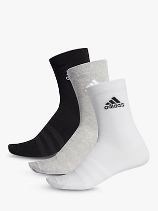 adidas Light Training Crew Socks, Pack of 3