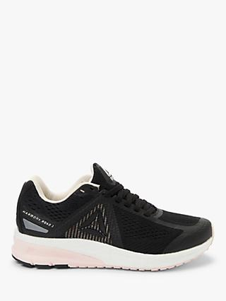 Reebok Harmony Road 3.0 Women's Running Shoes, Black/Pale Pink/White