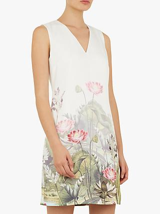 f1383d1d4d7c55 Ted Baker Staycy Waterfall Floral Dress