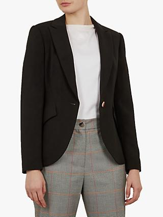 Ted Baker Aniita Tailored Blazer, Black