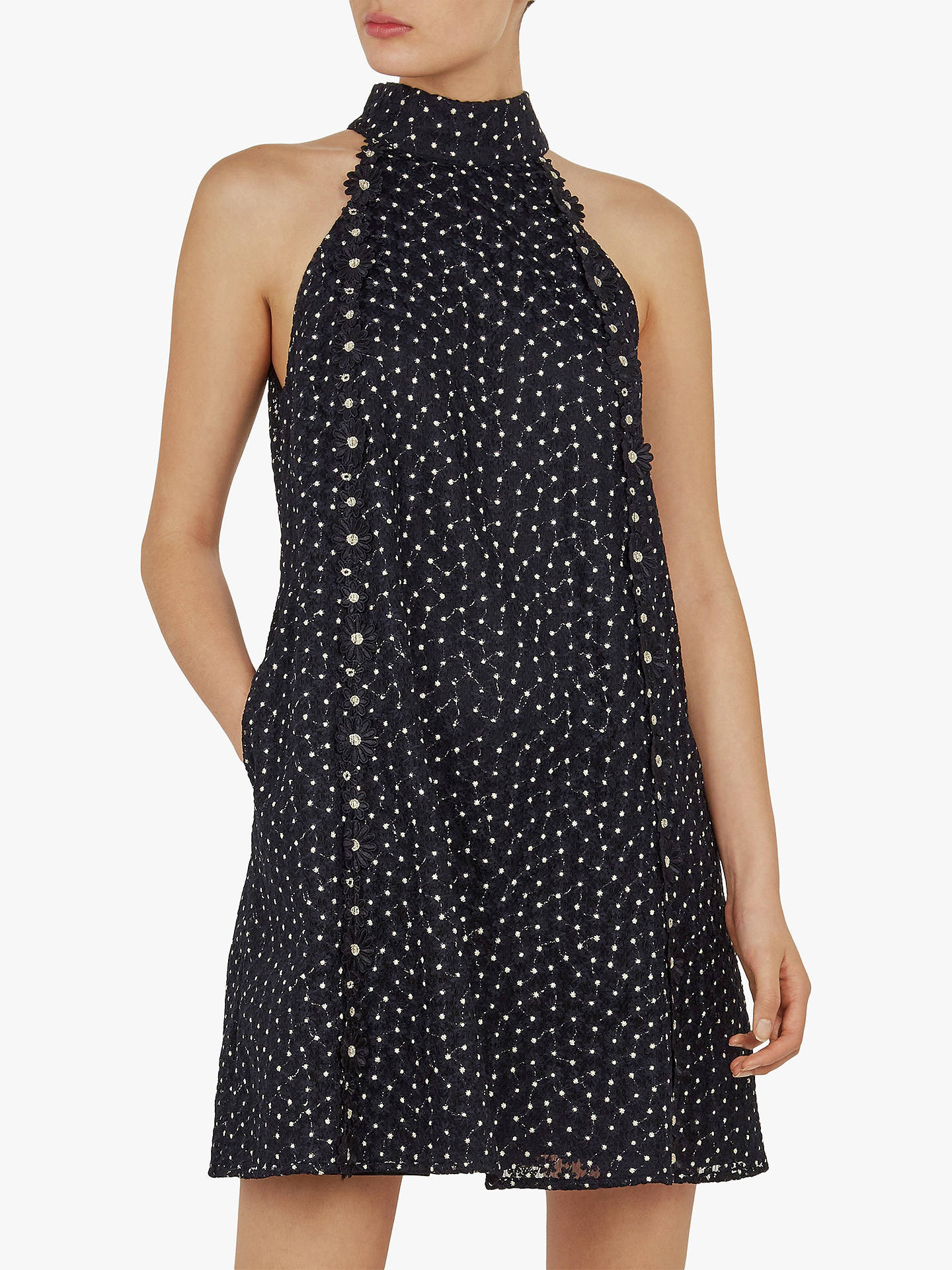 b39789f88 Ted Baker Daysil Daisy Lace Halter Tunic at John Lewis   Partners