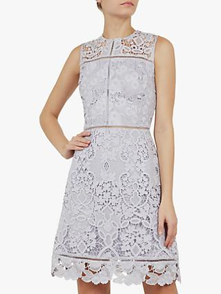 b2c89015352f78 Ted Baker Primrose Lace Tunic Dress