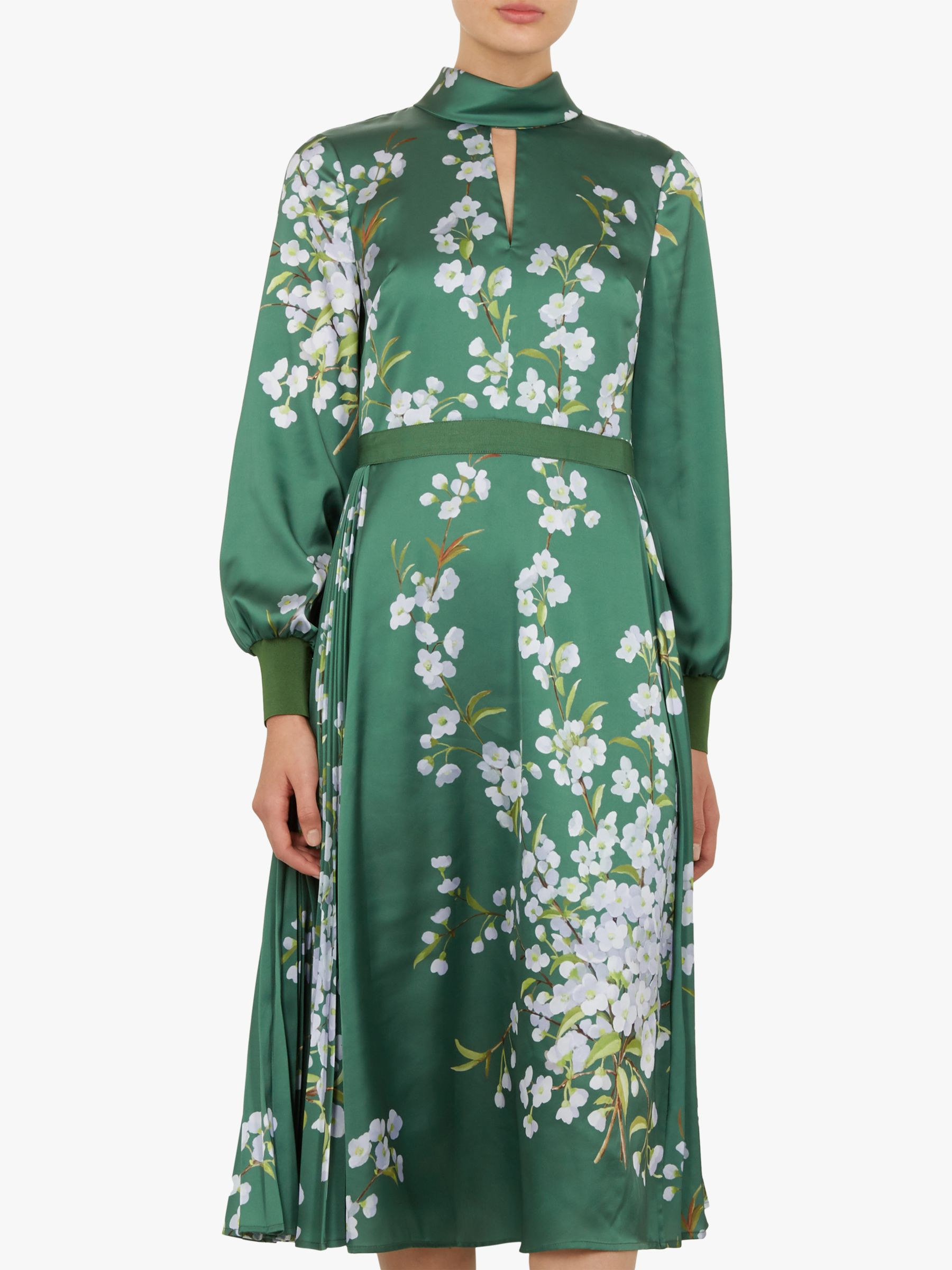 4d241c85d Ted Baker Jhenni Floral Midi Dress