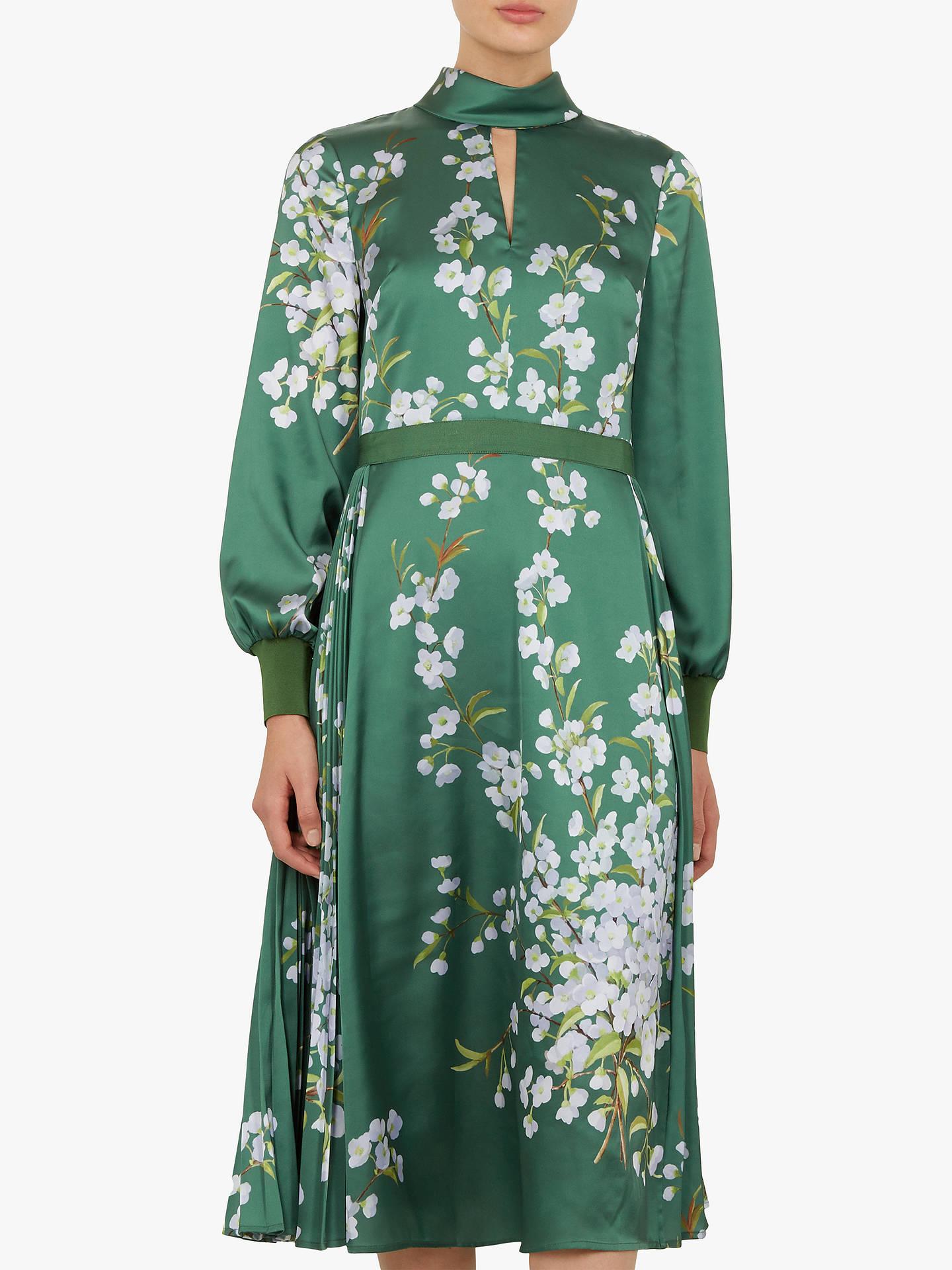 b6a4cc1a9cf036 Buy Ted Baker Jhenni Floral Midi Dress