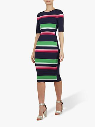 8c229bc38fbc05 Ted Baker Iviie Stripe Knitted Dress