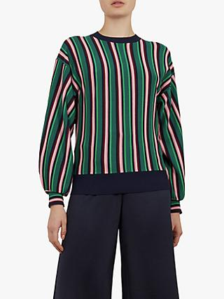 Ted Baker Kionai Striped Jumper, Navy