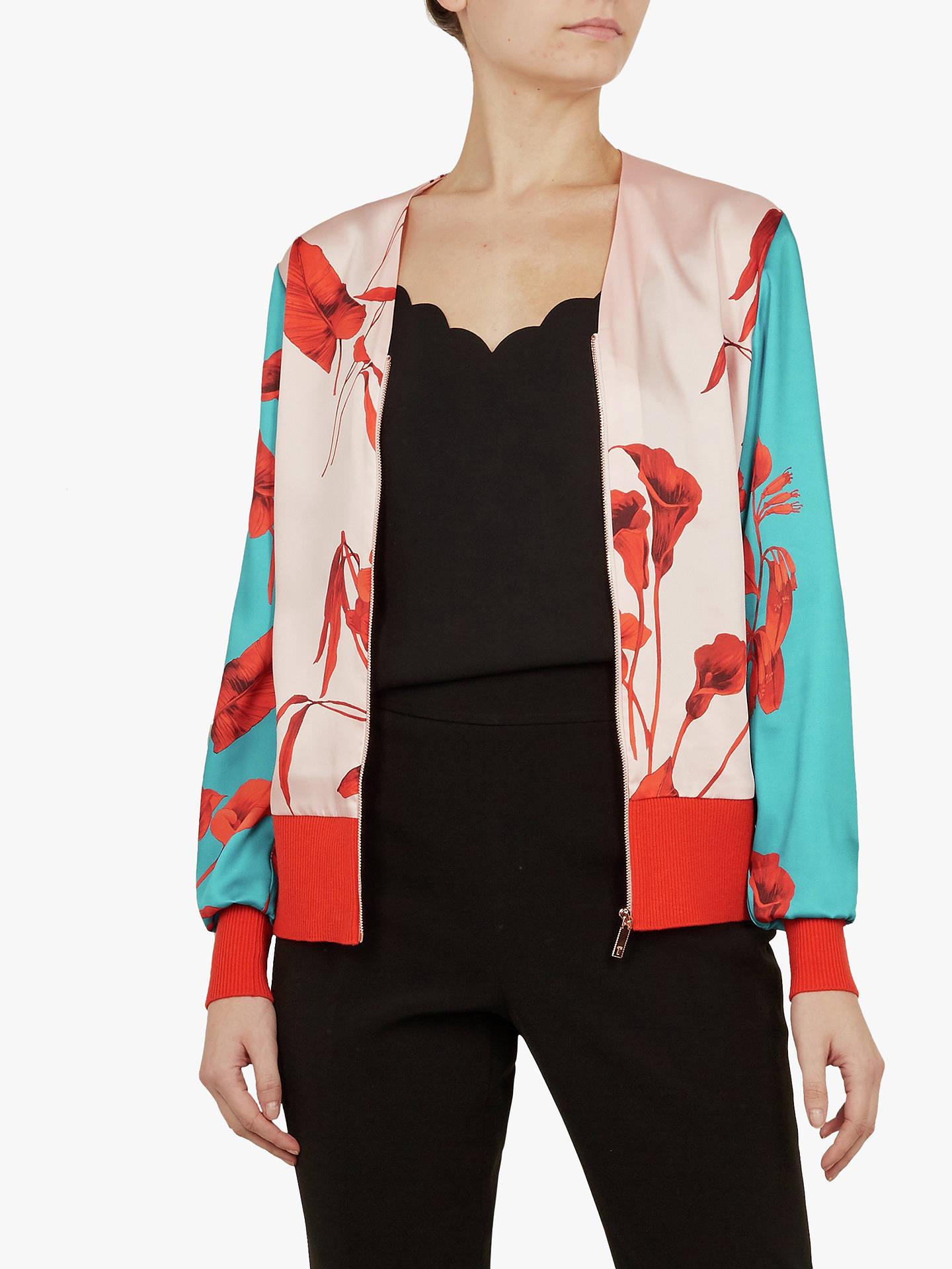 2551498c7 Buy Ted Baker Cortnee Fantasia Knit Bomber Jacket