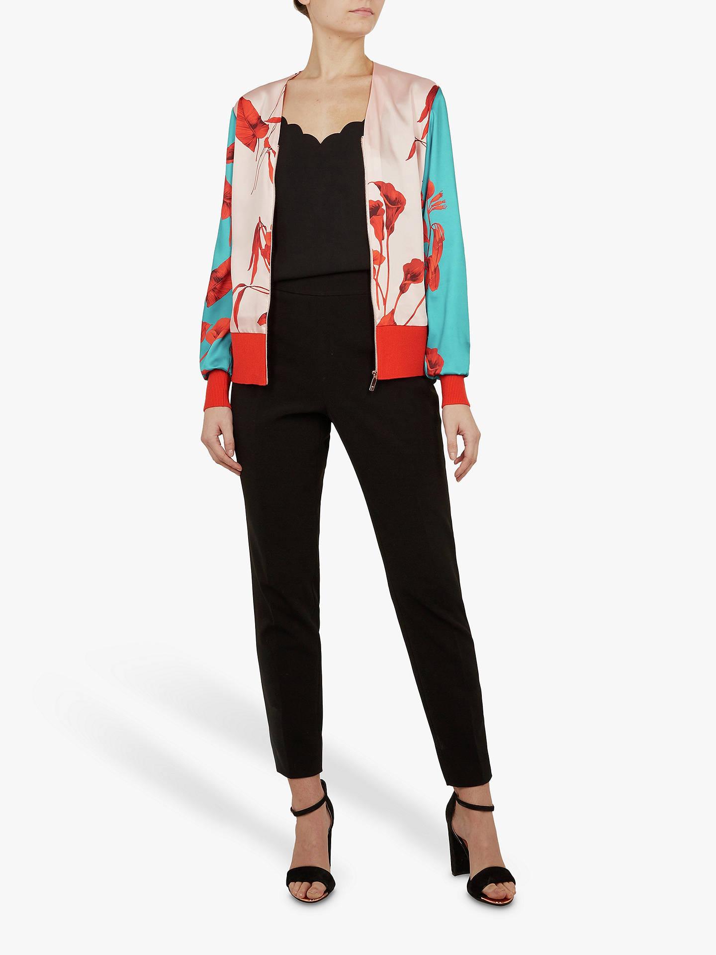 aa65fe6cd ... Buy Ted Baker Cortnee Fantasia Knit Bomber Jacket