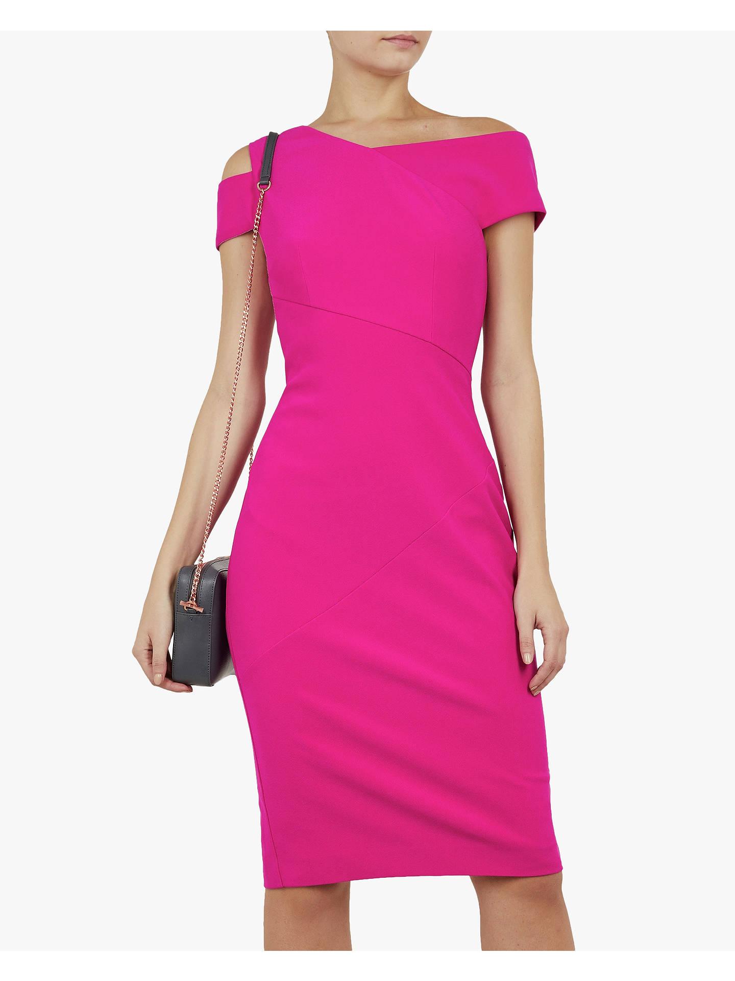 02de0b2df Buy Ted Baker Aivilo Bodycon Shoulder Dress