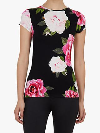 8c38da1f341e Ted Baker Alanyo Floral Fitted T-Shirt