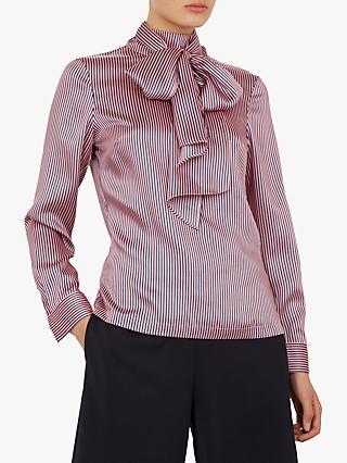 5f3a0a1e2 Tie Neck | Women's Shirts & Tops | John Lewis & Partners