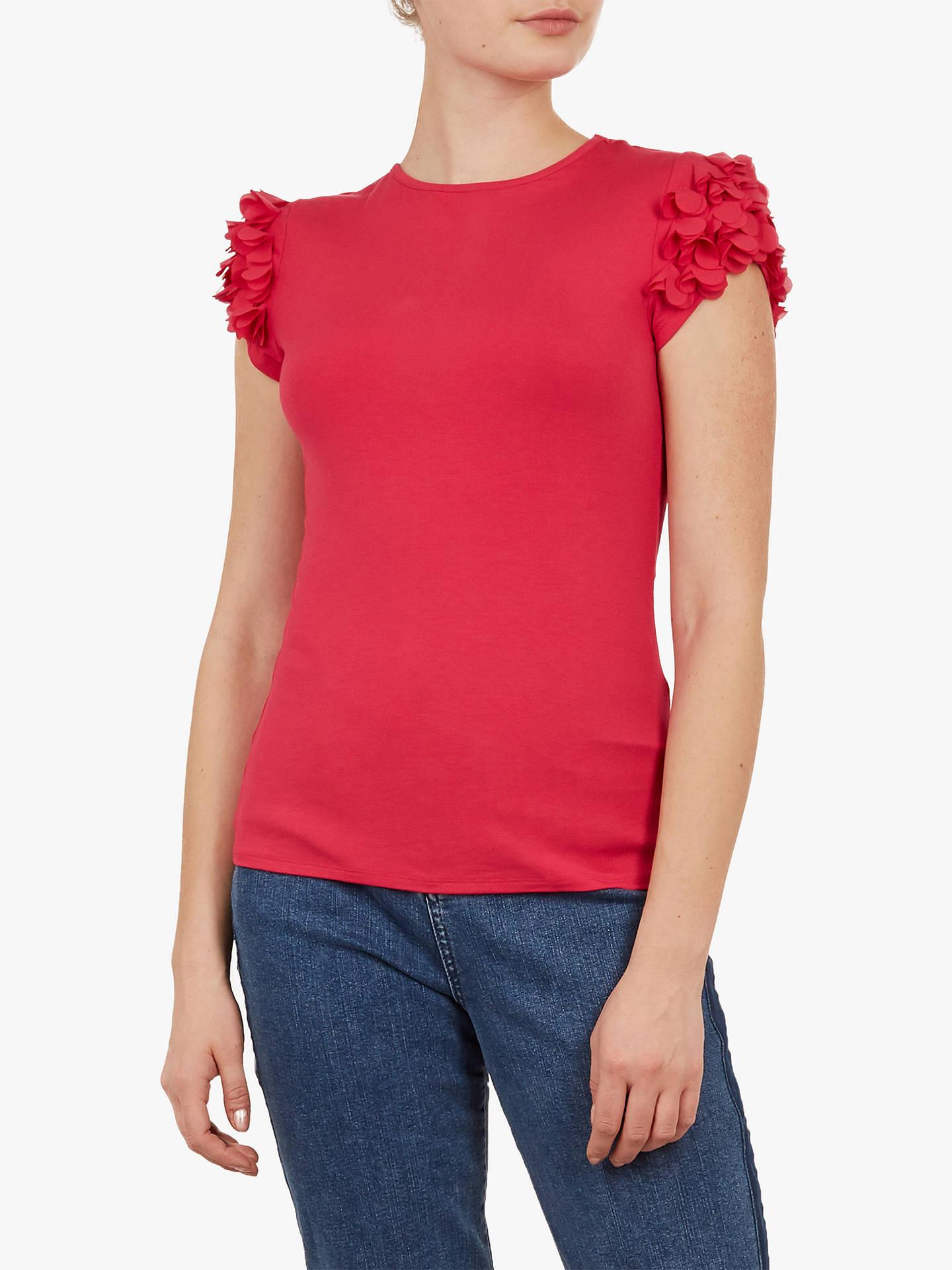 91959f244 Buy Ted Baker Blere Floral Applique Sleeve Top