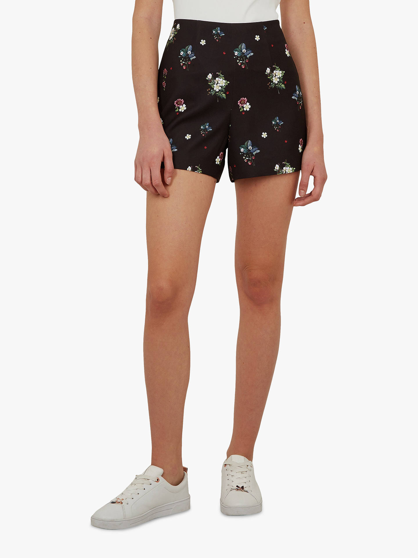 b187730ba Buy Ted Baker Naomii Floral Embroidery Shorts