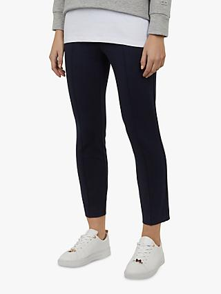 Ted Baker Maarley Zip Detail Leggings, Navy