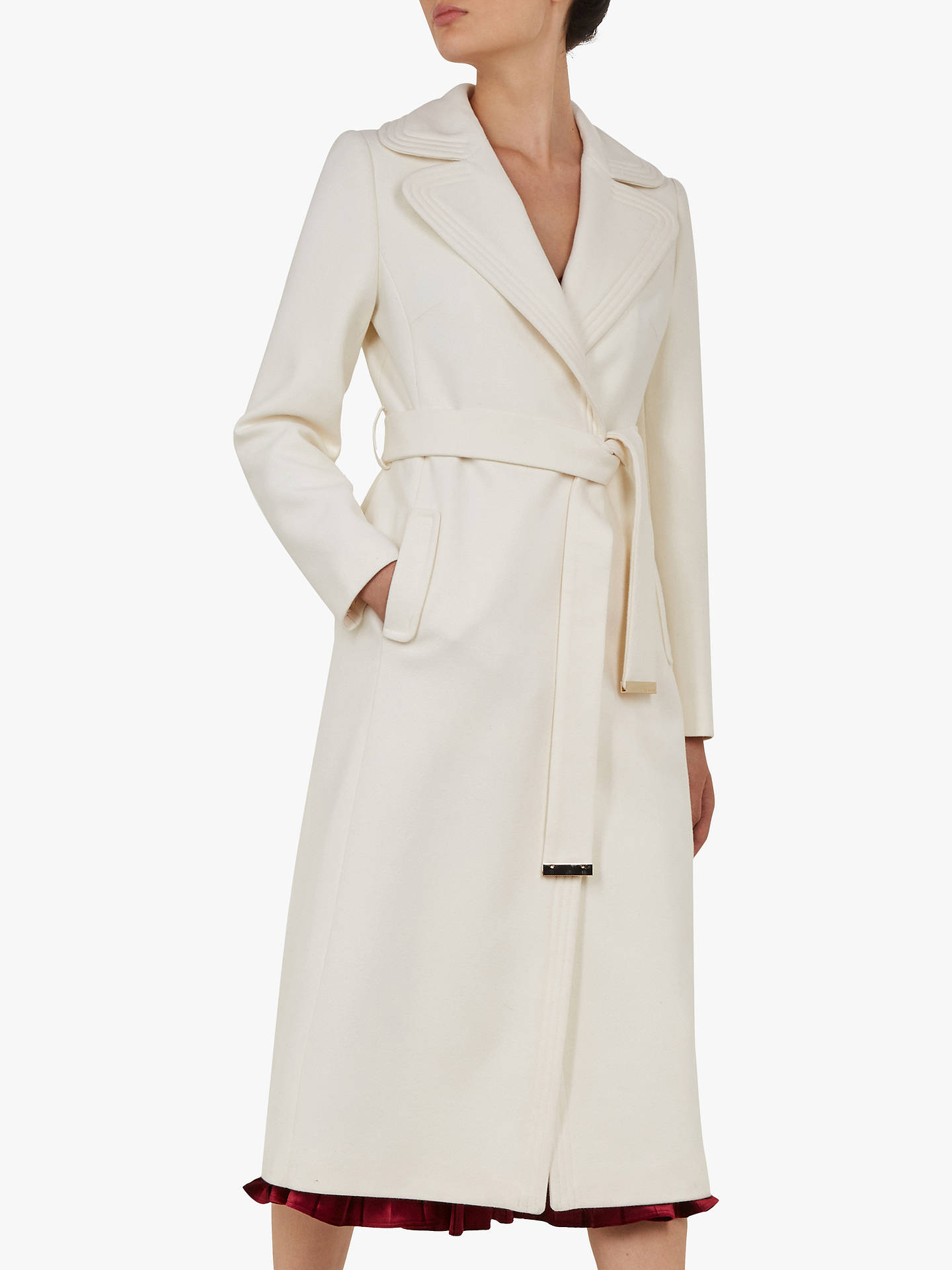 1fbf839e9 Ted Baker Gabella Wool Rich Tailored Coat at John Lewis   Partners