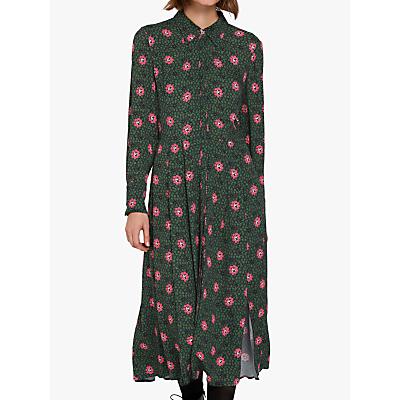 Ghost Bell Shirt Dress, Roxie Flower
