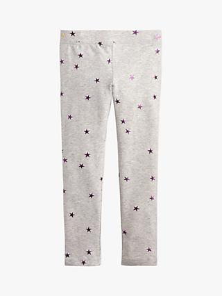 crewcuts by J.Crew Girls' Star Print Leggings, Grey