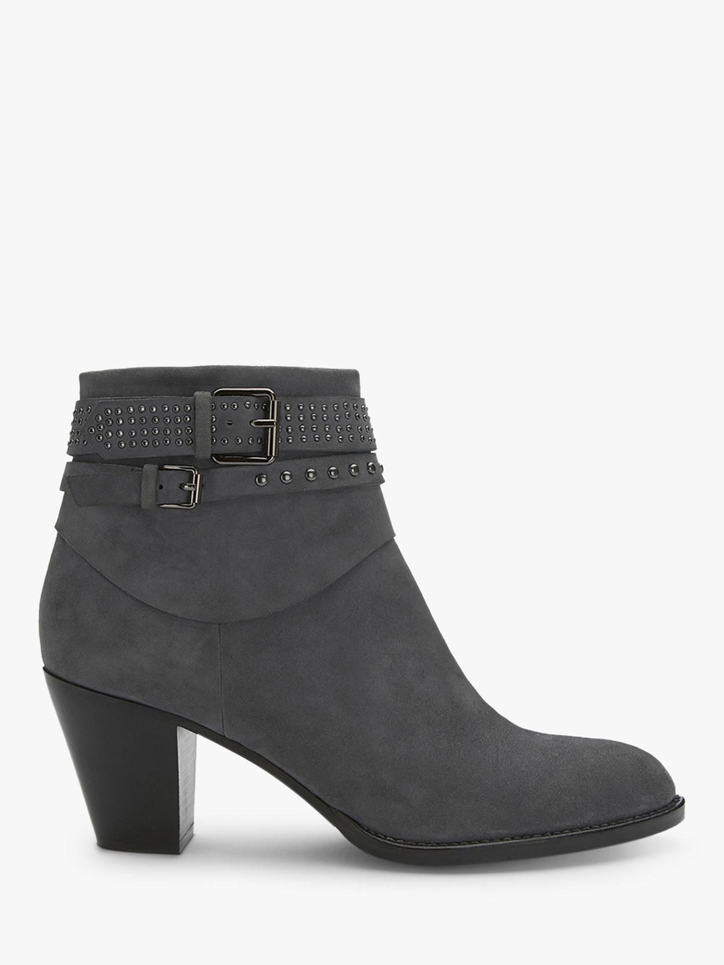 e2dc879bf21 Buy Mint Velvet Peyton Nubuck Heeled Ankle Boots