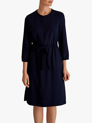 Fenn Wright Manson Bluey Tie Waist Dress, Navy