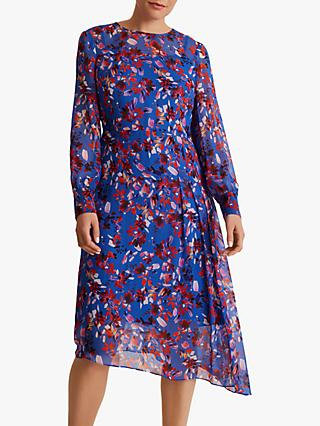 Fenn Wright Manson Petite Azura Dress, Blue Floral