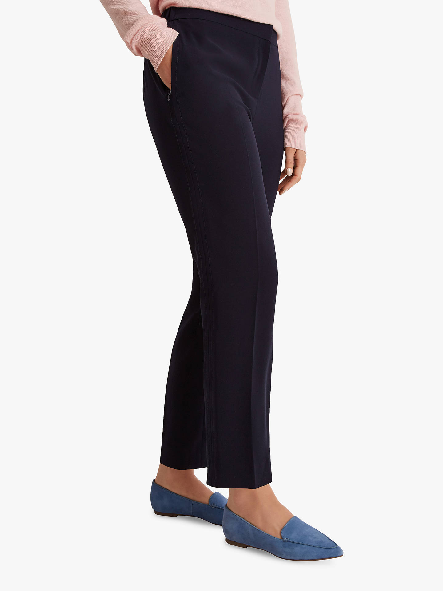 BuyFenn Wright Manson Petite Storm Trousers, Navy, 10 Online at johnlewis.com