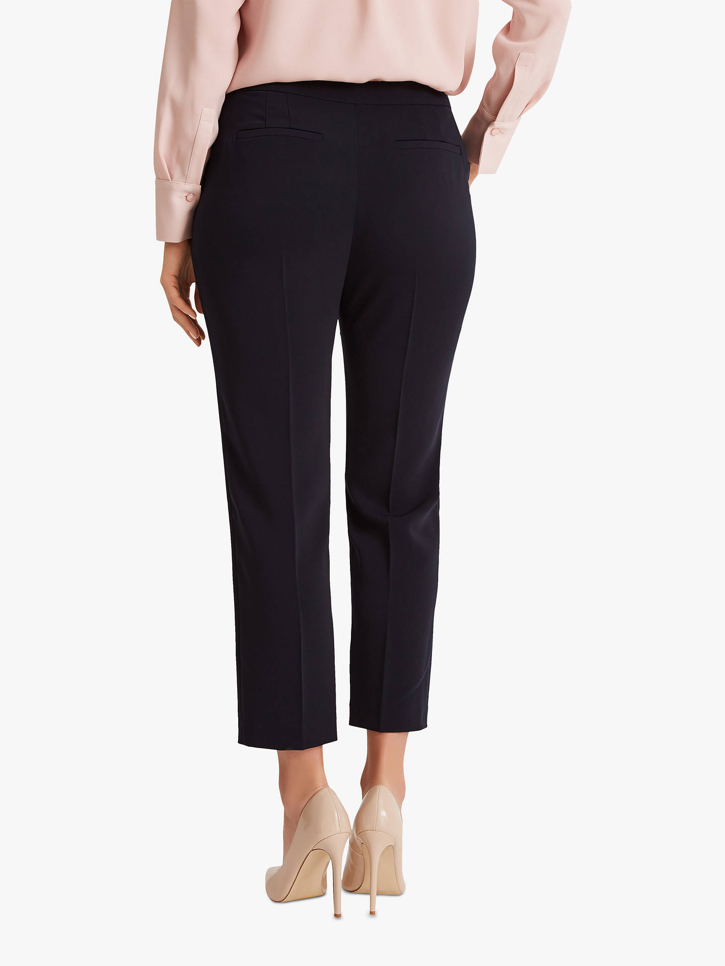 BuyFenn Wright Manson Petite Skye Trousers, Navy, 10 Online at johnlewis.com