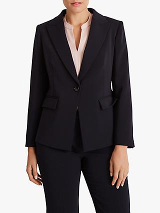Fenn Wright Manson Petite Skye Tailored Jacket, Navy