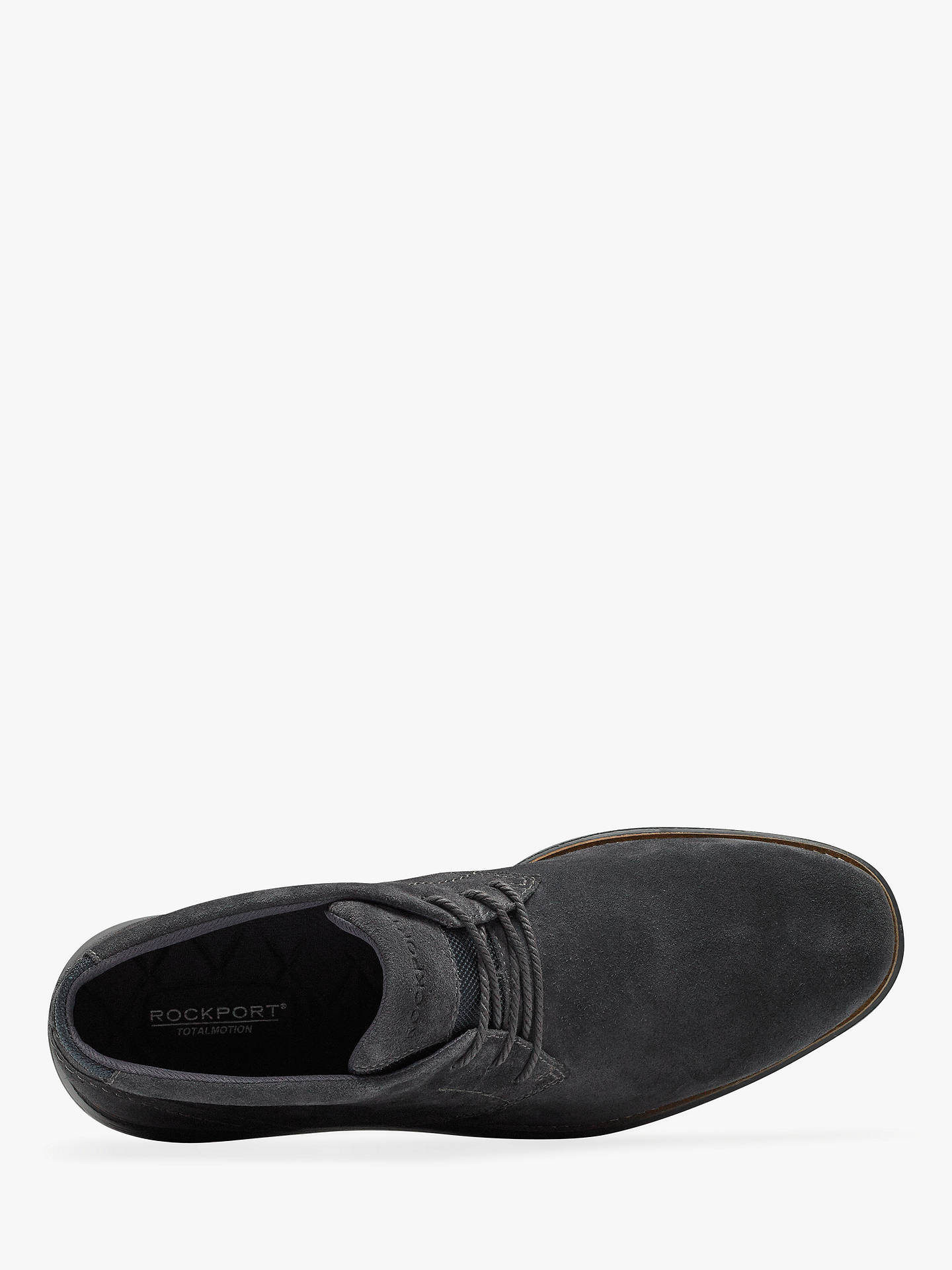 Buy Rockport Total Motion C.F. Stead Suede Sports Chukka Boots, Winter Smoke, 7 Online at johnlewis.com