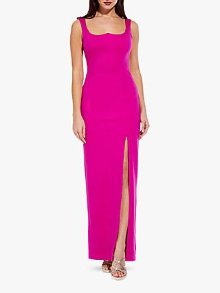 Adrianna Papell Lola Jersey Dress, Cosmo Pink